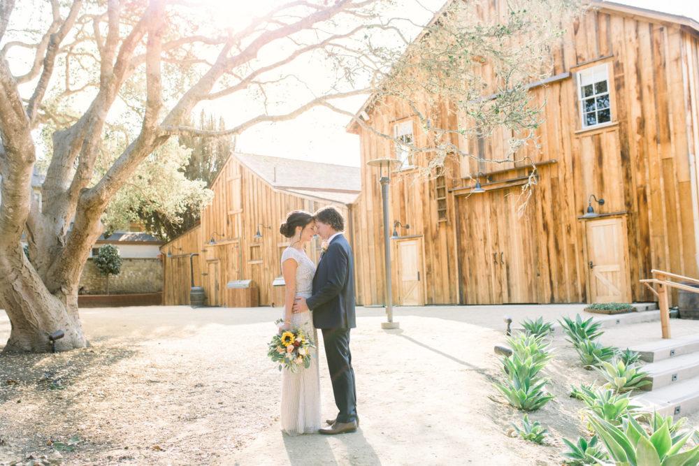 Couple at Barns