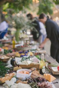 Charcuterie Grazing Table for Special Events at the Barns