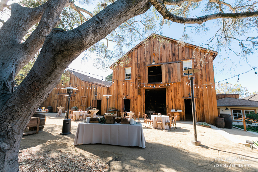 Cooper Molera Barns ready for the Party to Arrive