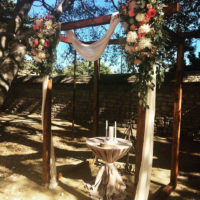 Rustic Arch add-on at Barns