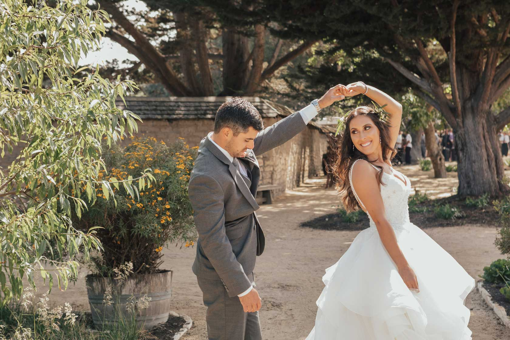 Wedding in July at Cooper Molera