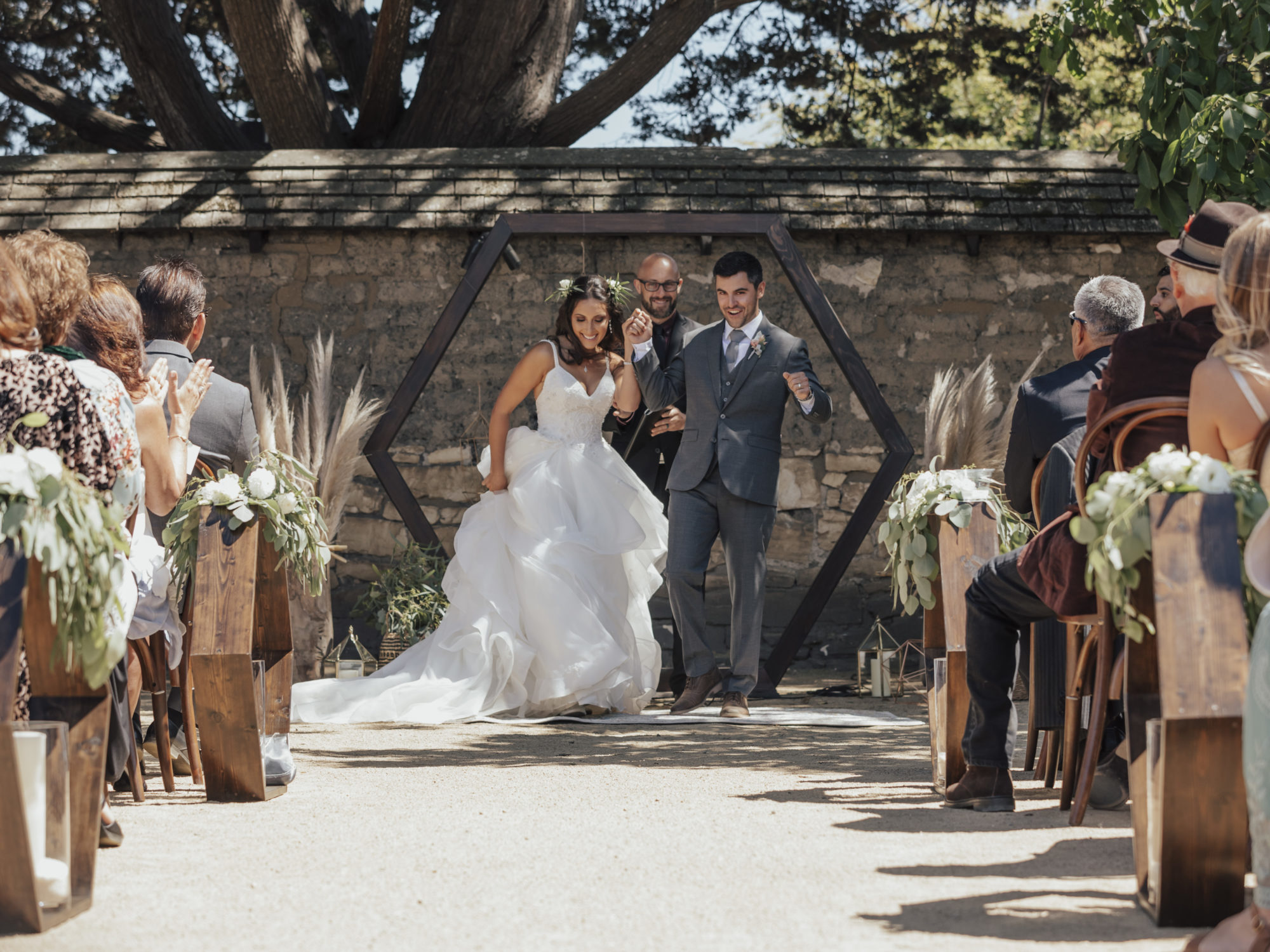 Married at The Barns at Cooper Molera Montere CA