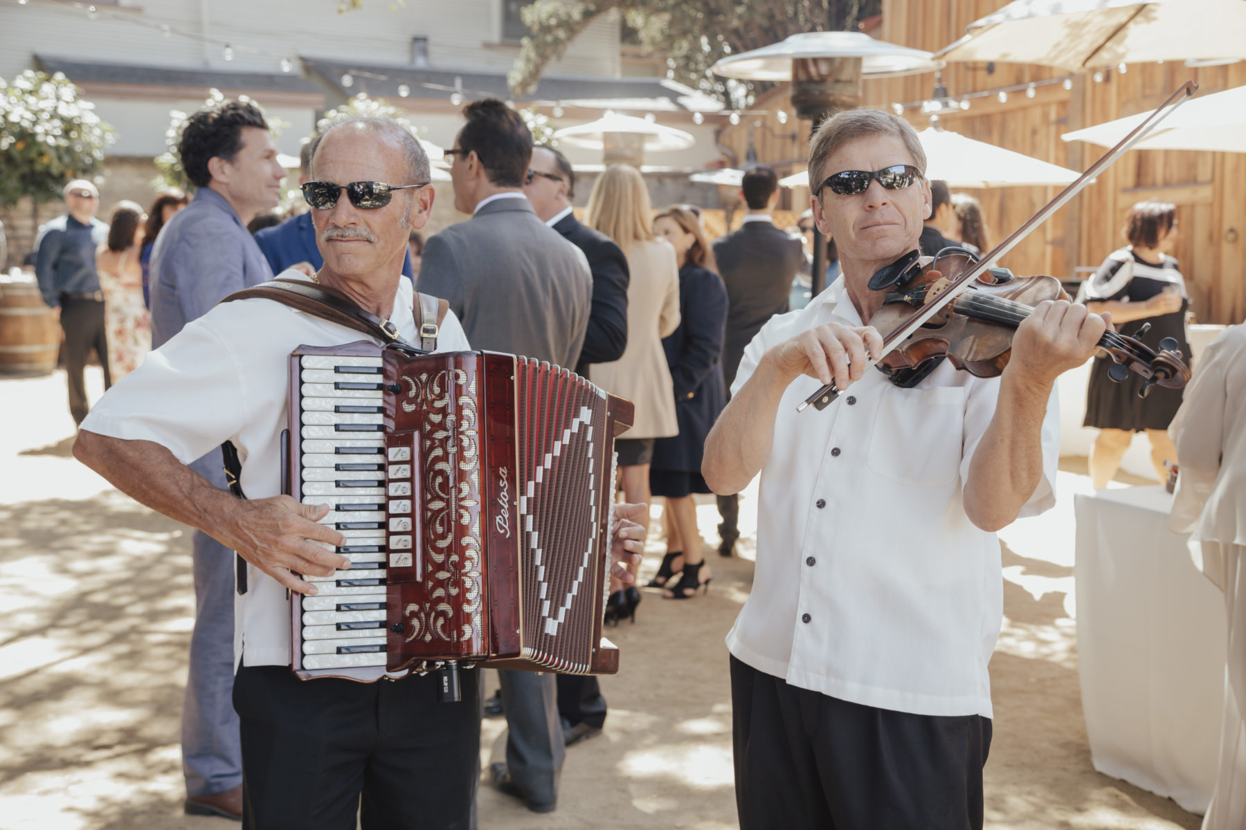 Strolling Musicians at Cooper Molera Barns Event Center