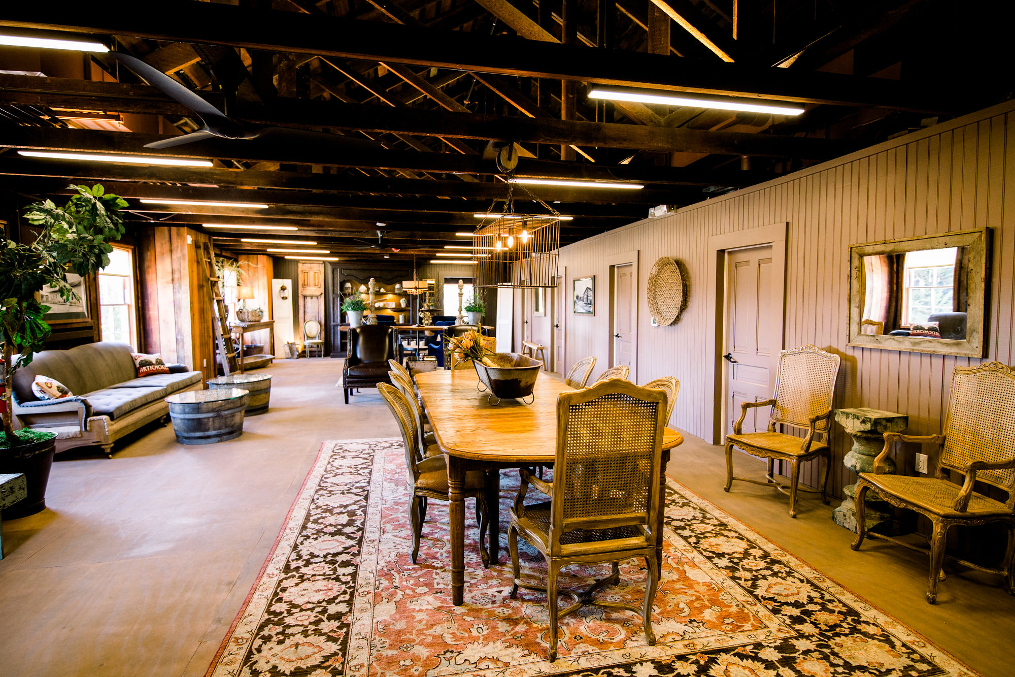 VIP Loft at The Barns Event Center in Monterey