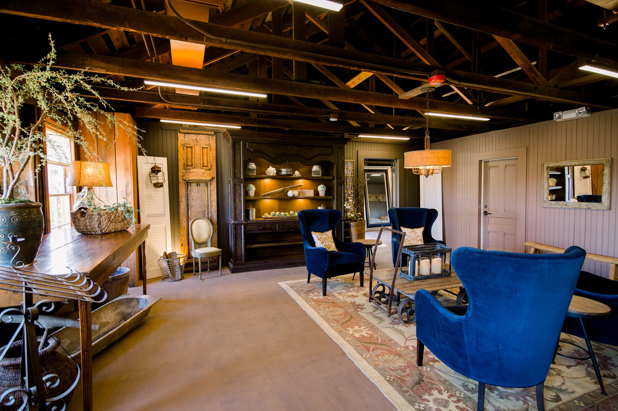 VIP Loft at Cooper Molera Barns Event Center in Monterey