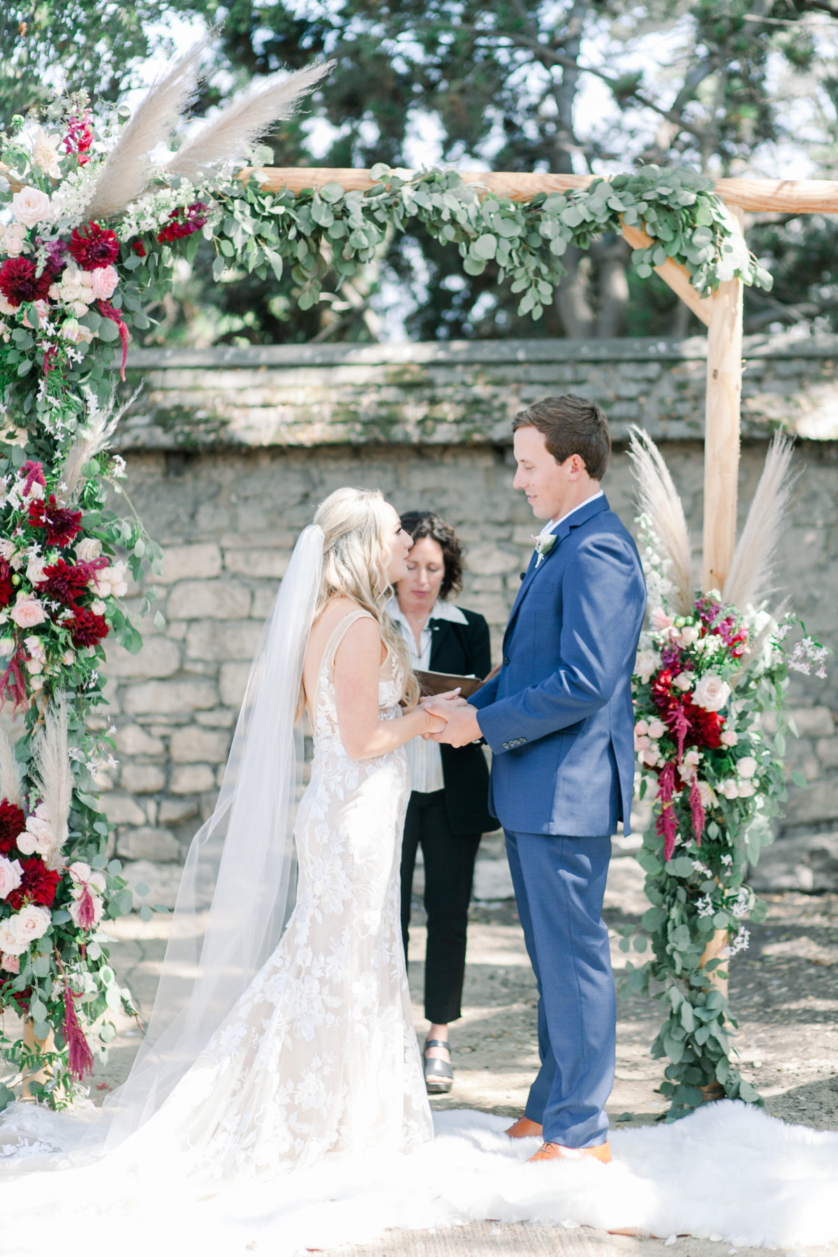 Ceremony at The Barns in Monterey California